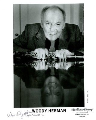 WOODY HERMAN Signed Photo