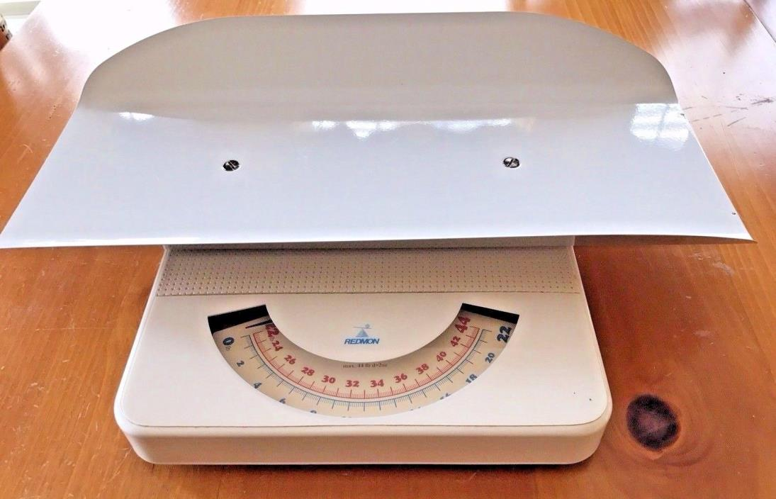 REDMON BABY INFANT OR PET SCALE 44 POUND LB CAPACITY WORKS GREAT *LIKENEW CLEAN!