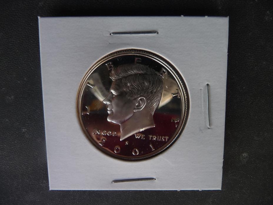 2001 s 90% silver proof Kennedy half dollar *