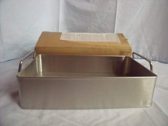 XMEDIN Stainless Steel Instrument Tray Basket w/Handles 10