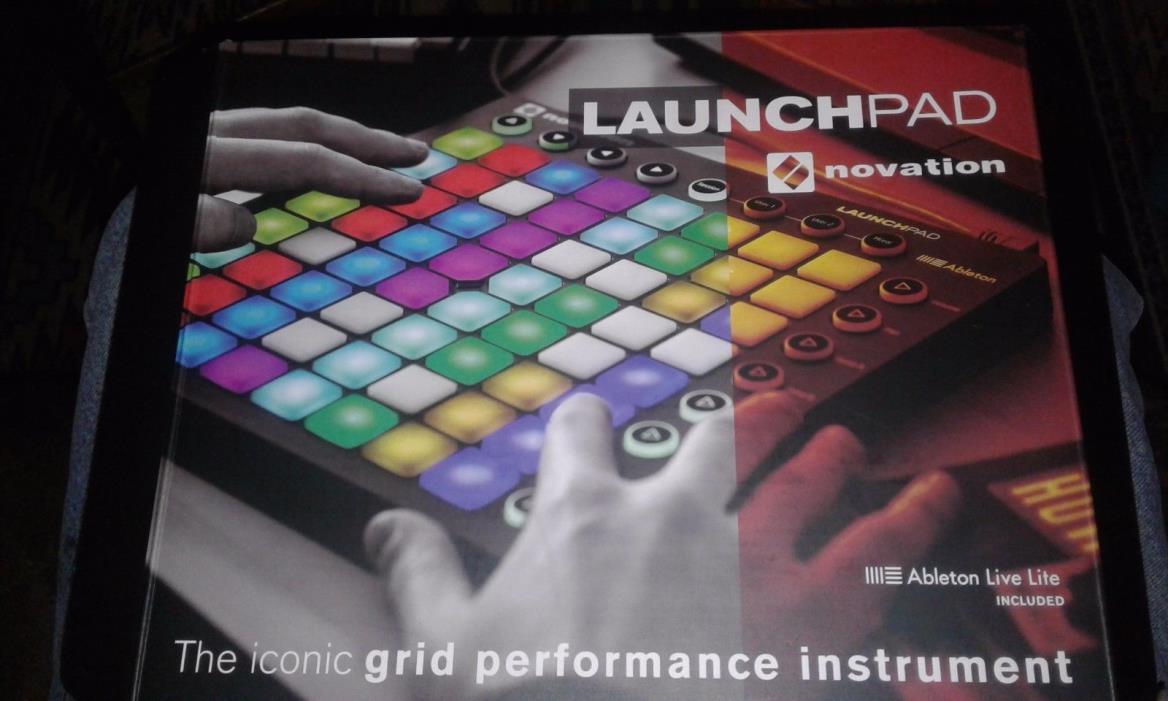 New Novation Launch Pad Launchpad Ableton Live lite Nemko