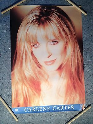 CARLENE CARTER POSTER, LITTLE ACTS OF TREASON, 1995 GIANT RECORDS PROMO