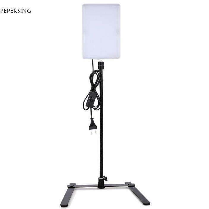 US Plug Camera Light Panel Gooseneck Photography Studio Video Photo PG5E