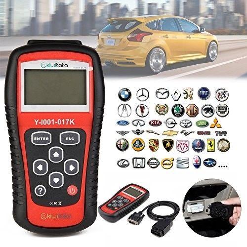 Car OBD2 Scanner,kiwitatá Universal OBD II Check Engine Light Car Fault Code
