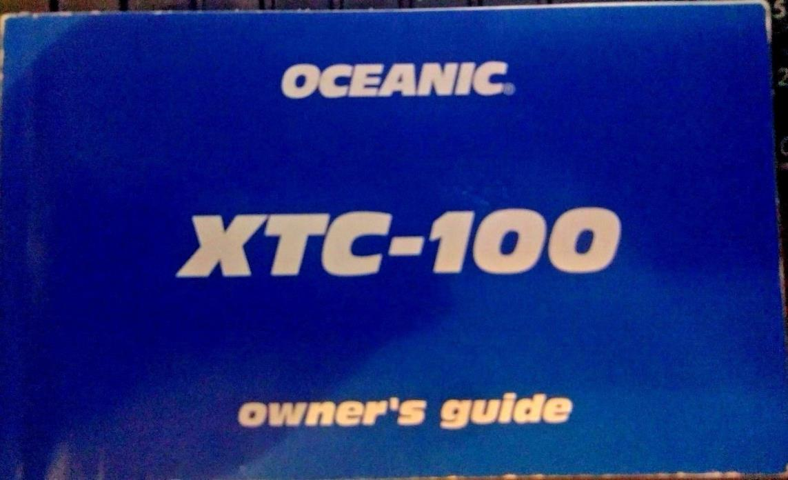 OCEANIC XTC-100 OWNERS GUIDE