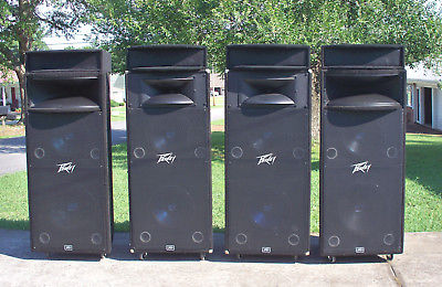 4 x PEAVEY HDH-1 CABINETS *MODIFIED*