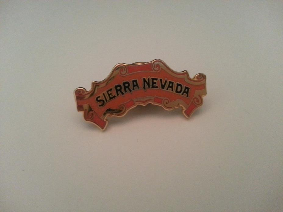Sierra Nevada Gold Tone Lapel Pin Tie Tack