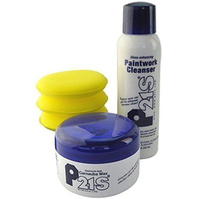 Concours Carnauba Wax, Gloss Enhancing Paintwork Cleanser, And Applicator