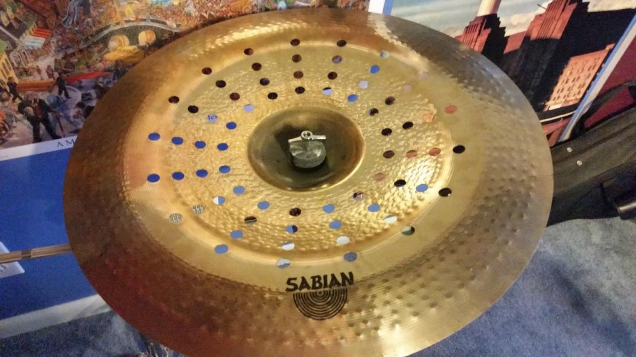 Sabian AA Series Holy China Cymbal, Brilliant 21
