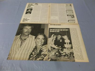 Natalie Wood Robert Wagner layout    clipping #BY