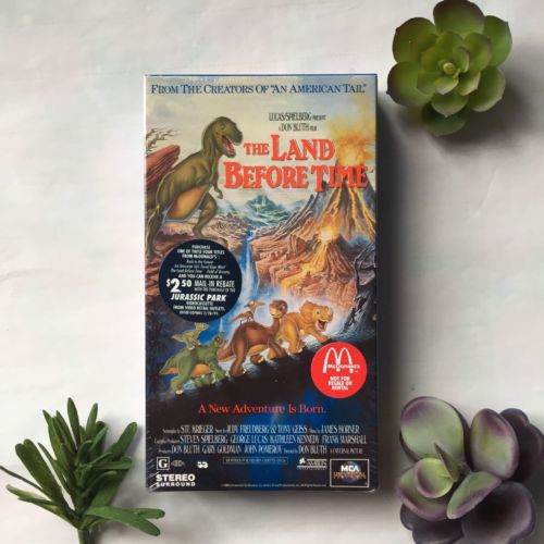 Land Before Time A New Adventure Is Born 1994 New Sealed Nostalgic Collectible