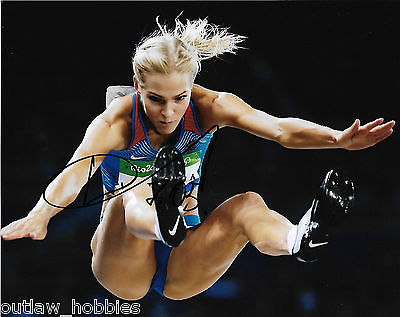 Darya Klishina Team Russia Autographed Signed 8x10 Photo COA H