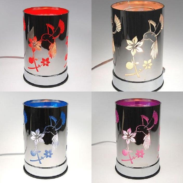 Hummingbird Touch Aroma Lamp Wax Tart Scented Oil Warmer Burner Electric Colors