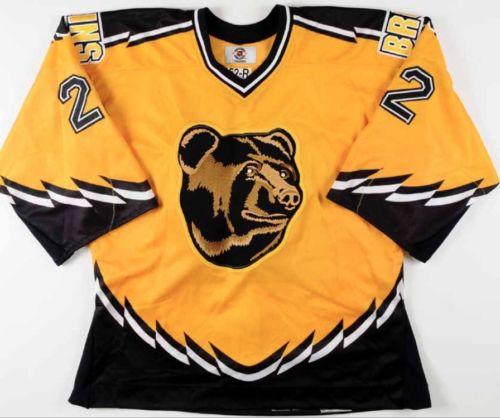 Rick Tocchet Game Worn Used Boston Bruins Pooh Bear Jersey