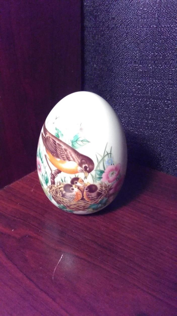 Avon Porcelain Egg