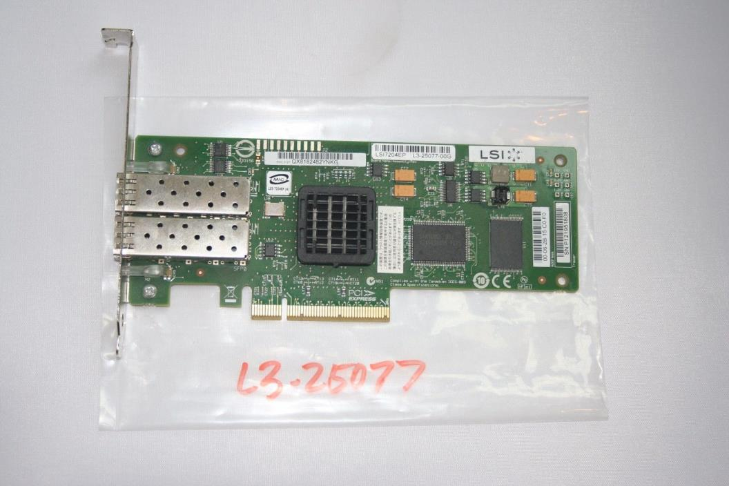LSI LSI7204EP 2-Port controller card (L3-25077-00g)