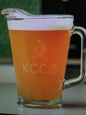 the Chive *Authentic* KCCO Glass Beer Pitcher