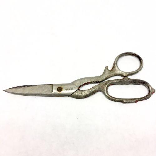 Vintage HIBBARD Scissors Kitchen Shears with jar opener