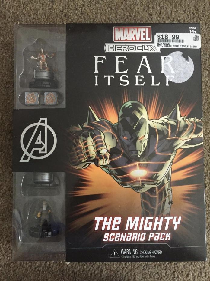 Wizkids Marvel HeroClix Fear Itself The Mighty Scenario Pack