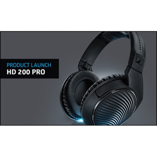 Sennheiser HD200 Pro Monitoring Headphones