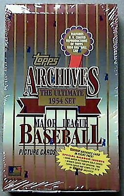1994 Topps Archives Baseball Hobby Box 1954 Re-print  Hank Aaron Autograph??