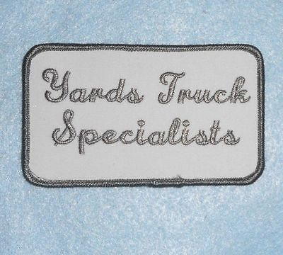 Yards Truck Specialists Patch - 4 1/4
