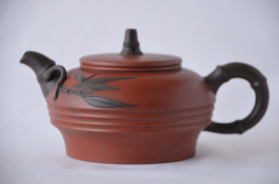 Chinese YiXing ZiSha  Teapot with Mark (T016)
