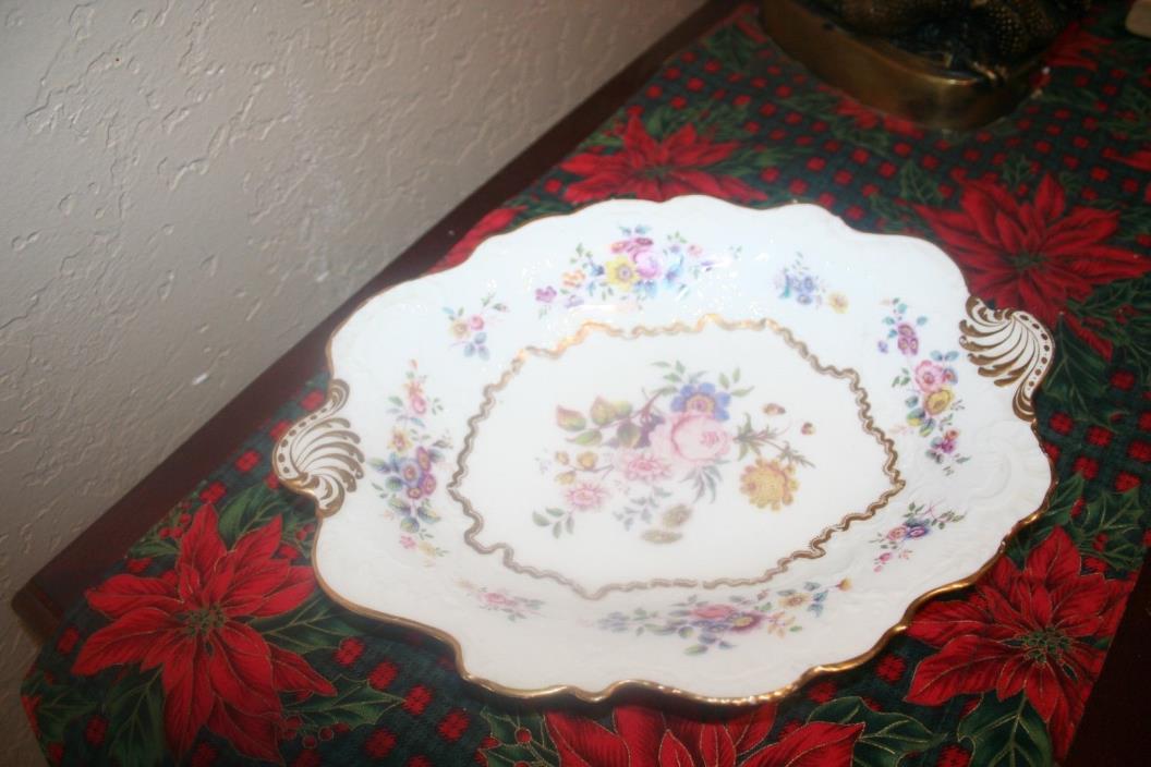 Beautiful Old Paris Ornate Serving Dish/Platter Unmarked
