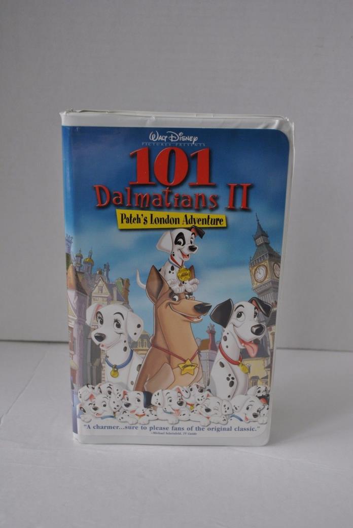 101 Dalmatians II: Patch's London Adventure (VHS, 2002)