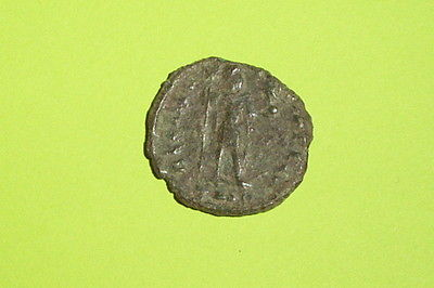 Ancient ROMAN COIN of VALENTINIAN I 364 AD-375 AD labarum victory globe old rare