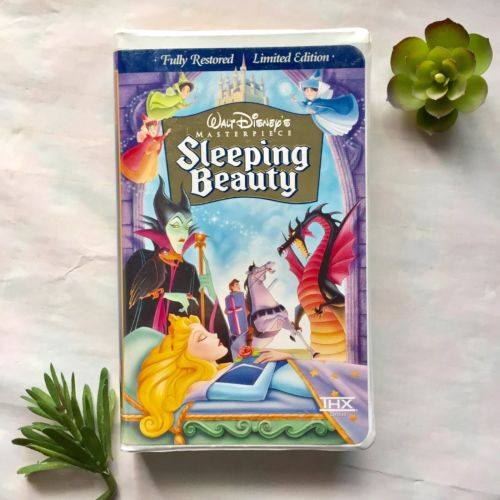 Walt Disney's Sleeping Beauty Limited Edition Masterpiece Collection VHS