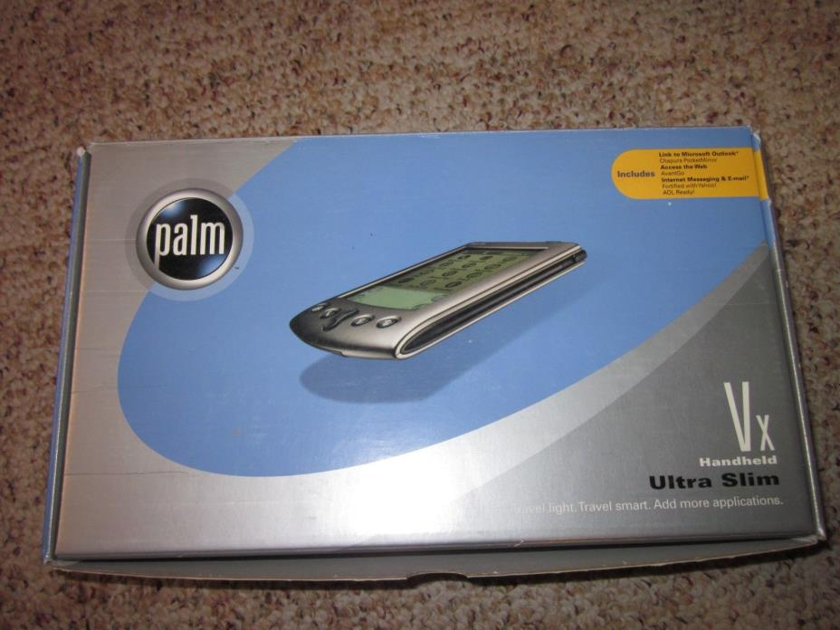 Palm Vx Handheld Ultra Slim - Gadgets & Other Electronics (BOX OPEN APPEARS NEW)