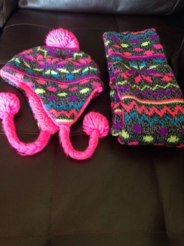 justice Hat And Scarf Set One Size
