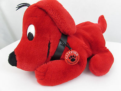 1991 Norman Bridwell Dakin Inc. CLIFFORD THE BIG RED DOG Plush Hand Puppet