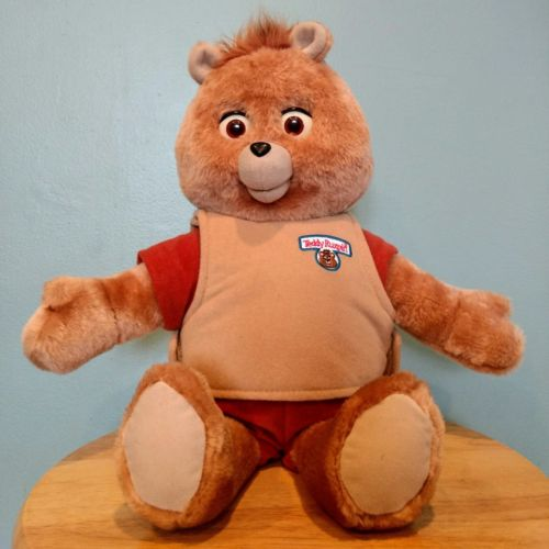 TEDDY RUXPIN Storytelling Bear BackPack Toys 2006 Untested No Tapes