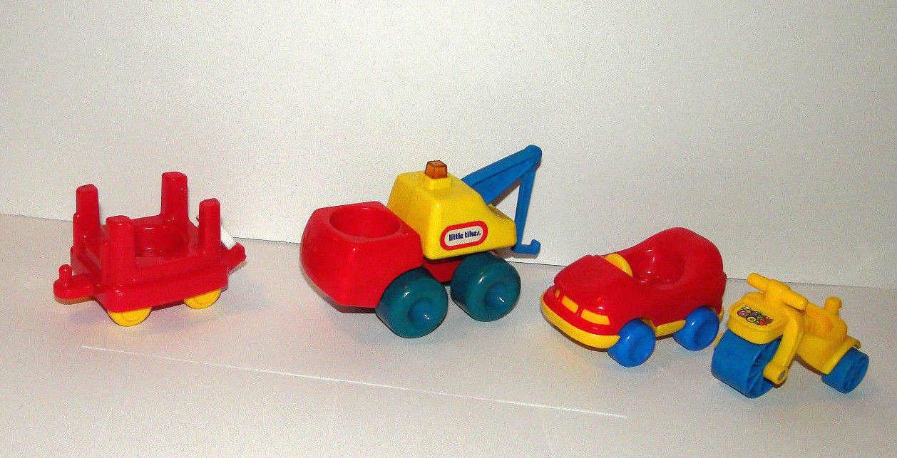 Little Tikes Lot Car Train Tow Truck