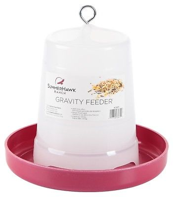 SummerHawk Ranch 33671 Gravity Feeder for Chickens