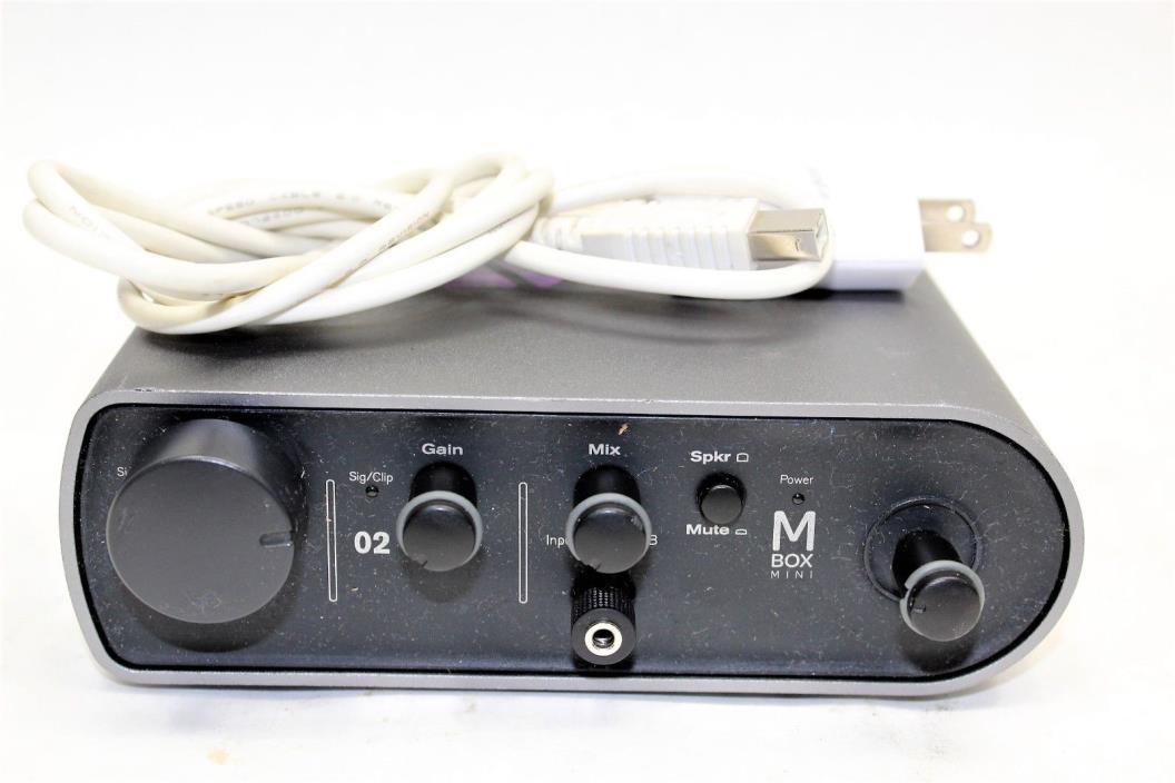 USED Avid Mbox Mini Audio Interface (SOFTWARE / DRIVERS NOT INCLUDED)