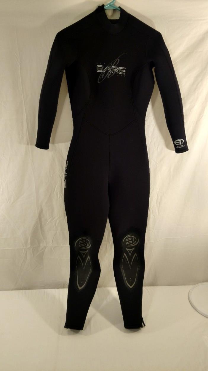 Bare Scuba,Snorkeling.Progressive Stretch size measurement's description wetsuit