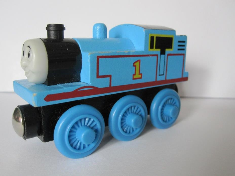 THOMAS THE TRAIN * Original Wooden THOMAS * USED Condition * Britt Allcroft