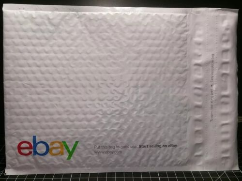 Ebay Bubble Padded Shipping Envelopes Self Seal Plastic Mailing Bags Lot of 10