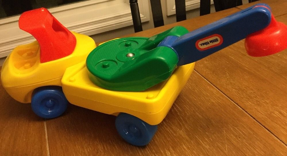 Little Tikes TODDLE TOTS Cherry Picker/Tow Truck 1985