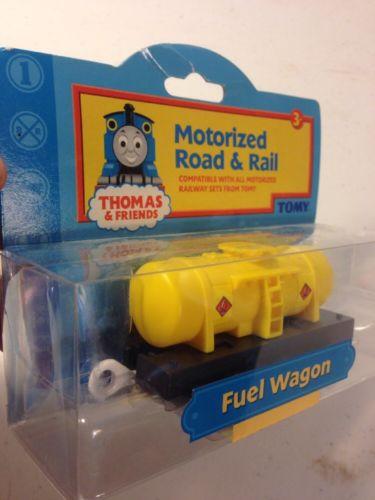 **FUEL WAGON 2003 Motorized Road & Rail** Thomas & Friends TOMY- NIB RARE