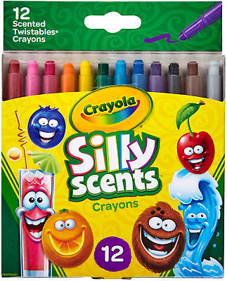 Crayola Silly Scents Twistables Mini Crayons - NOTM086264