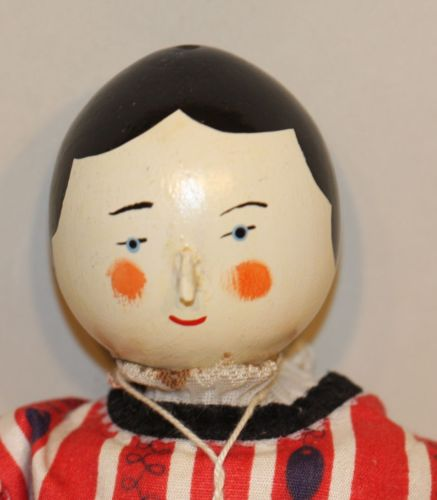 1978 RCD Robin and Nell Dale 11-1/4 Inch Artist Peg Wooden Toy Doll w/ Hang Tag