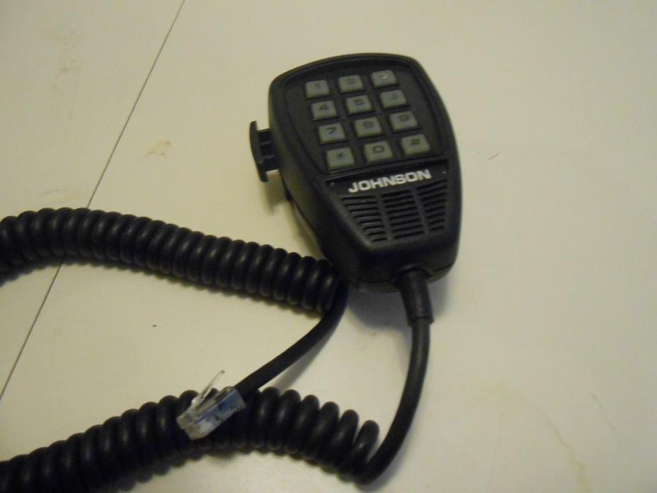 Johnson  CB Ham  Radio Mobile DTMF  Microphone