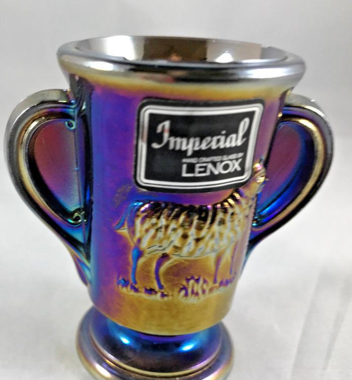Vintage Lenox Imperial Glass tooth pick holder