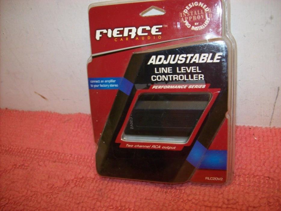 Fierce Audio FILC20V2 Adjustable Speaker Line Car Level Controller RCA Free ship