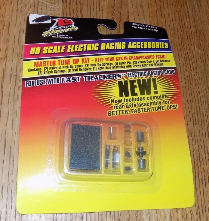 Life Like HO Electric Racing Accessories 433-9915 Tune-Up Kit NIP