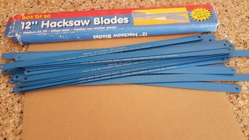 LOT OF 34 Hacksaw Blades 12